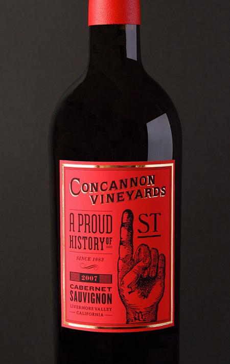 concannon vineyard concept packaging