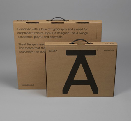 ByALEX A Range packaging