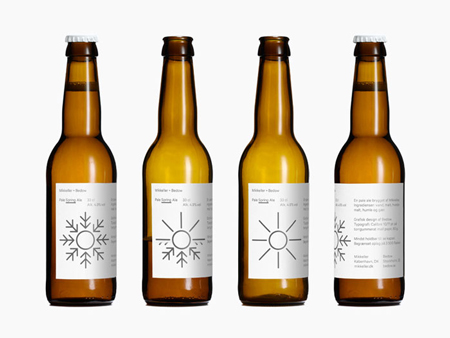 Mikkeller Pale Ale labels
