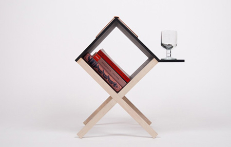 Reading table by Studio Voigt Dietrich