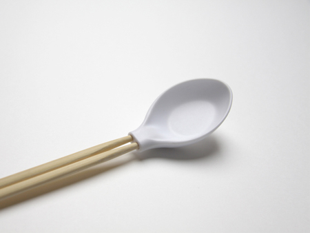 Spoonplus: when a spoon meets chopsticks