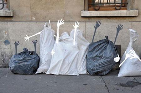 Street art by Sandrine Boulet