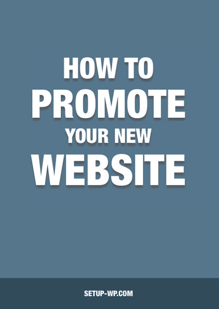 Free eBook: how to promote your new website