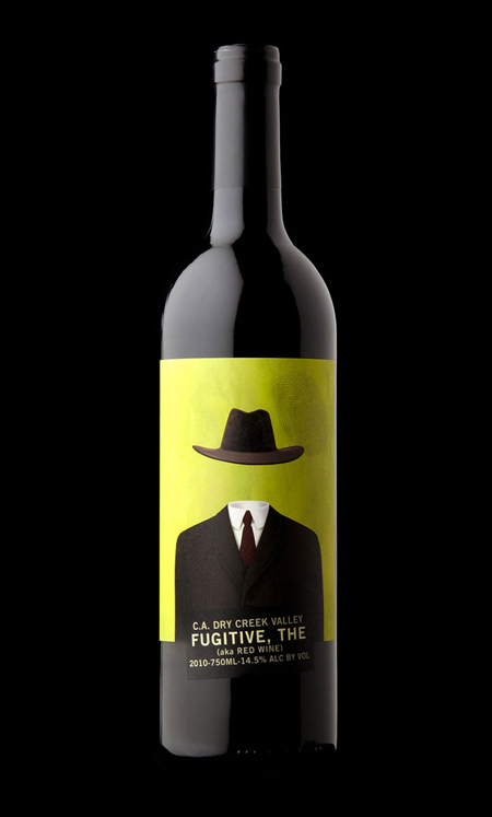 The fugitive wine label