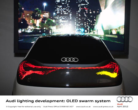 Audi's new fog laser beam