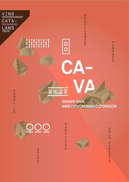 Designs to promote Catalan wines
