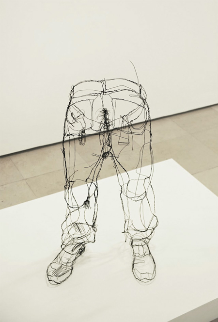 Wire 3D Sculptures by David Oliveira