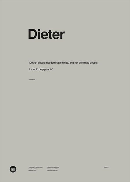 Dieter poster by 1910