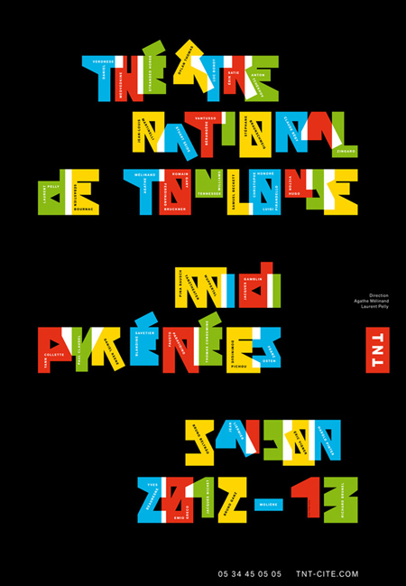 Posters by Philippe Apeloig