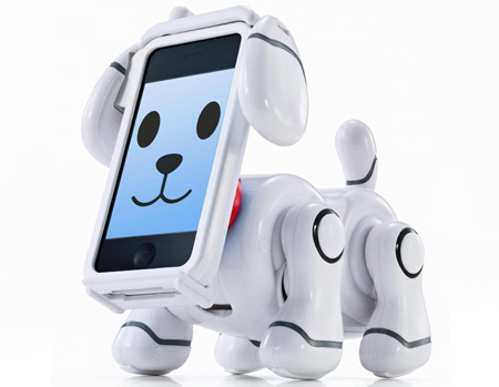 Smartpet robotic iPhone dog