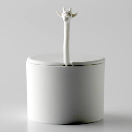 Creative giraffe sugar basin