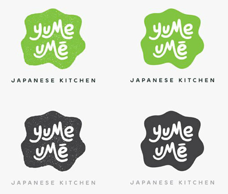 Yume Ume branding