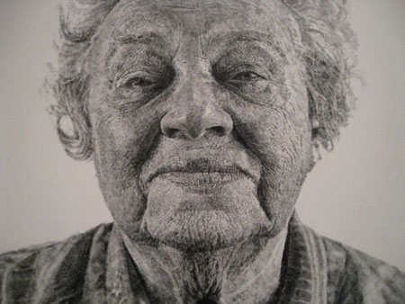 Fingerpainting by Chuck Close