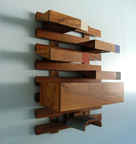 Modular woodworking by Jacob Granat