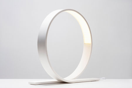 Loop lamp by Timo Niskanen