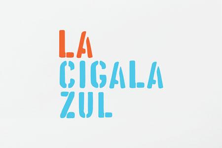 La Cigala Zul branding