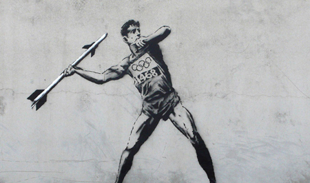 London Olympics by Banksy