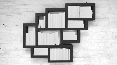 Frames Wall by Gerard de Hoop