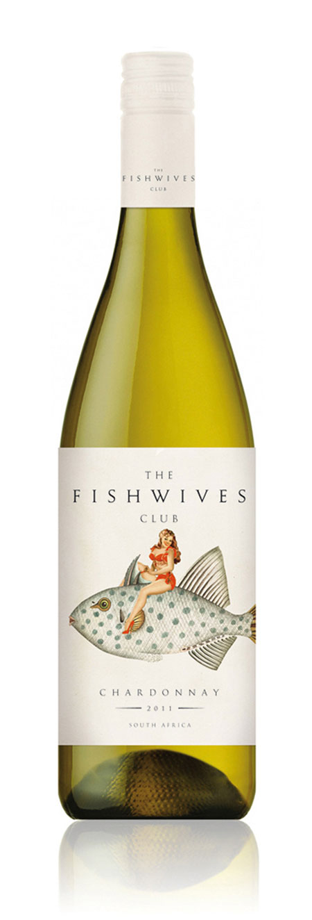 Fishwives Club wine labels