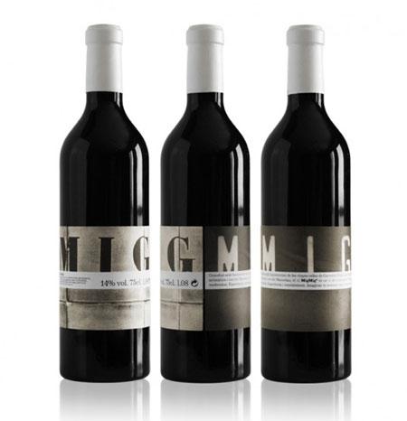 Mig Mig wine label