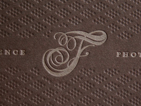 Finessence photography identity and stationery