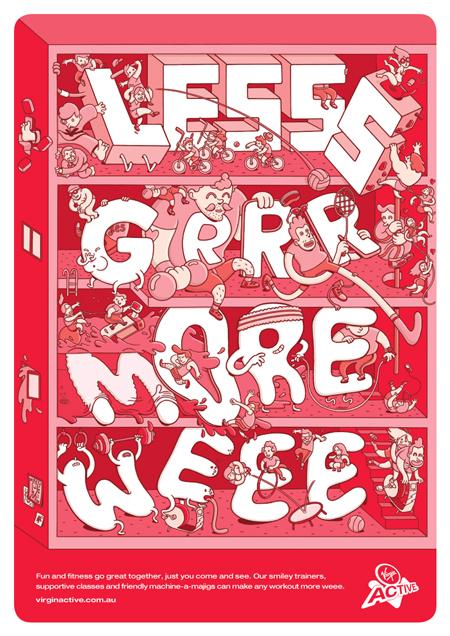 Less Grrr more Weee