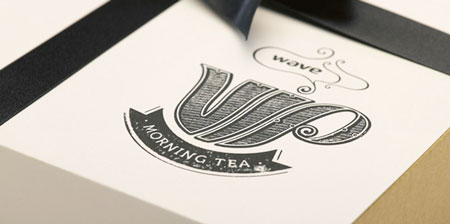 Wave VIP branding and packaging