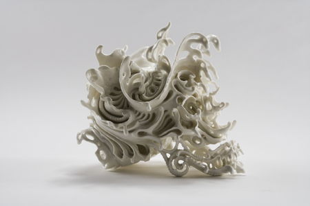 Stunning porcelain work by Kasuyo Aoki