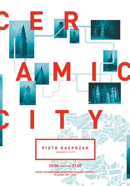 Ceramic city identity by Konrad Sybilski