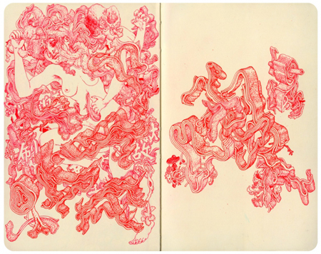 Sketches by James Jean