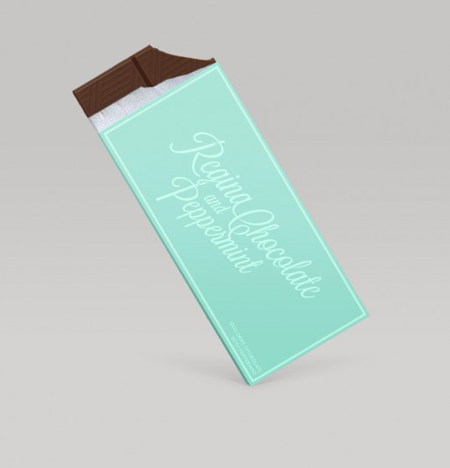 Concept chocolate packaging