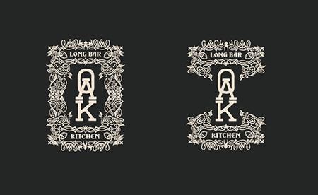 Oak Long Bar by Korn Design