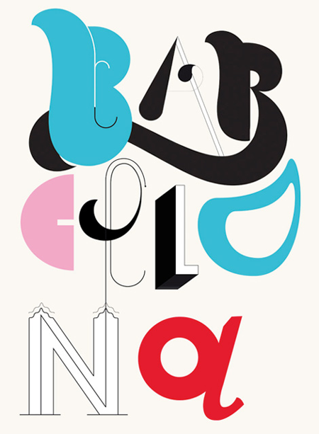 Typographic compositions by Studio Patten