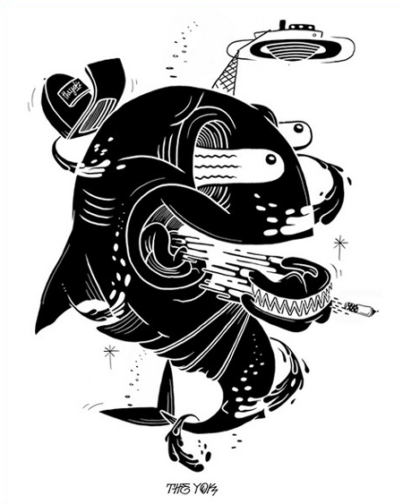 Illustrations by the Yok