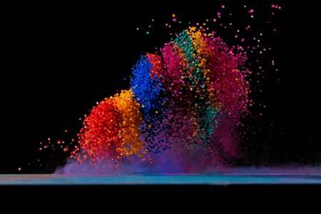 Spectacular colorful photography by Fabian Oefner