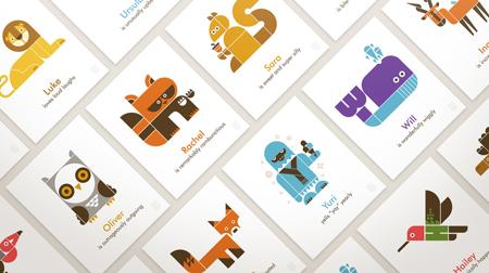 Wee Alpha personnalized alphabet prints