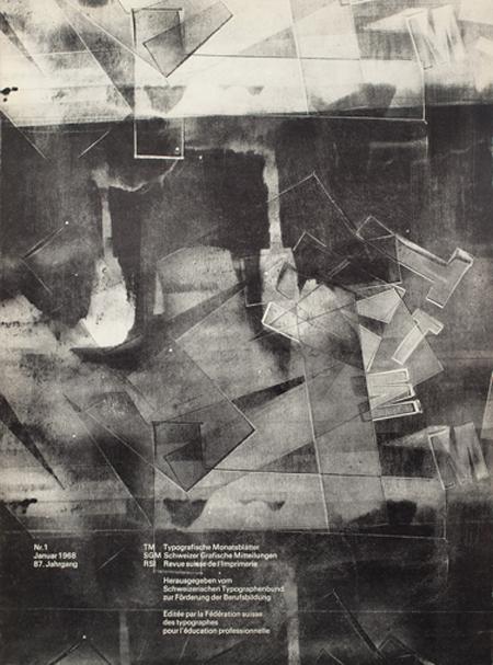 Typographische Monatsblatter cover archive