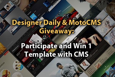 MotoCMS Giveaway: Win 1 Premium HTML CMS Template