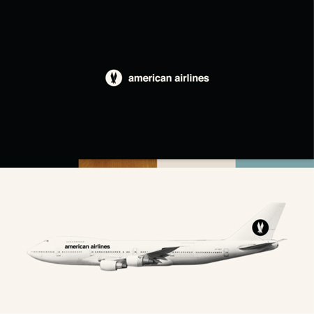 American Airlines concept rebranding
