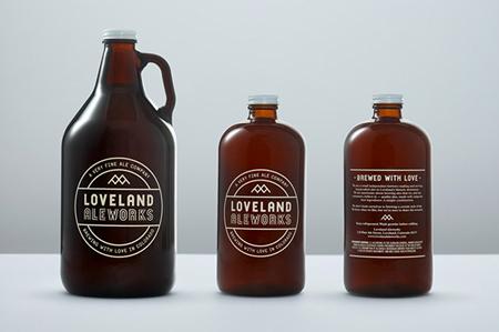 Loveland Aleworks brewery identity