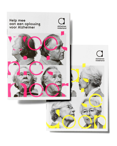 Identity for Alzheimer Nederlands by Studio Dumbar