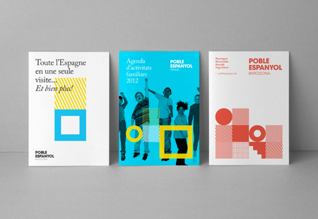 Corporate identity for Poble Espanyol