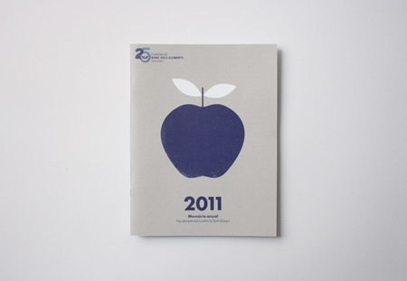 Annual report for a food bank