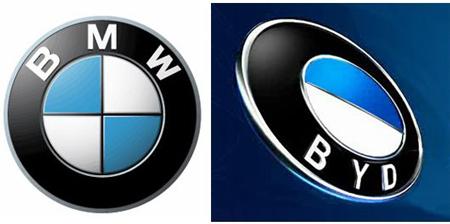 Car company logo rip-offs