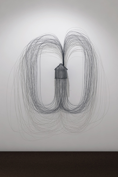3D wire sculptures by David Moreno