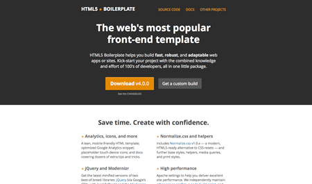 HTML5 Boilerplate launches its version 4
