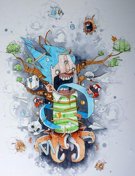 Illustrations by Monsta