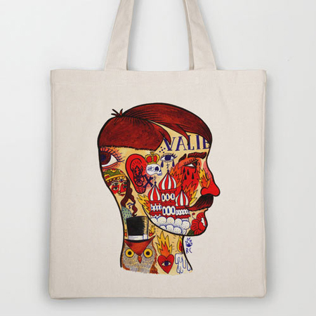 Artist-Designed tote bags