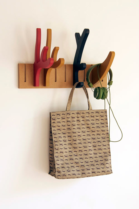 Modular Antler and Horn Coat Rack by 5LAB