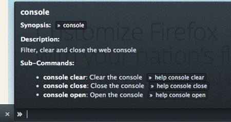 Firefox is developing a command line tool